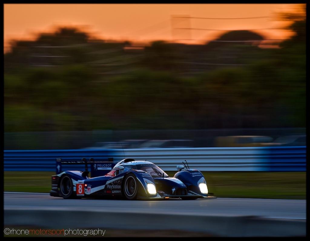 Rhone Motorsport Photography, Sebring, ALMS, 12 hours of Sebring, John Rhone, Nikon D700, Peugeot 908 HDi FAP