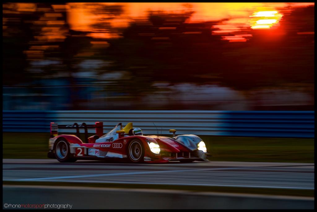 Rhone Motorsport Photography, Sebring, ALMS, 12 hours of Sebring, John Rhone, Nikon D700, Audi R15 TDI, Audi R15